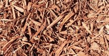 Red Dyed Wood Chips in Lodi