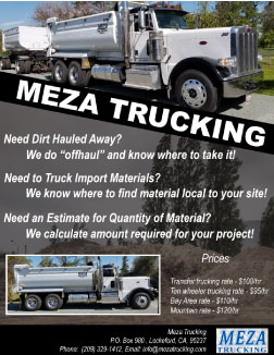 Meza Trucking Hauling Services