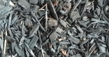 Bark and Mulch - Black Color Chip