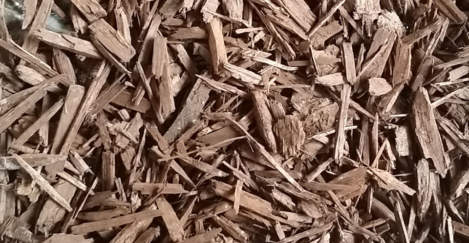 Bark and Mulch - Light Brown Decorative