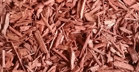Bark and Mulch - Red Decorative