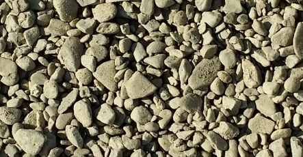 Gravel - 3/4 Inch Minus Washed Rock
