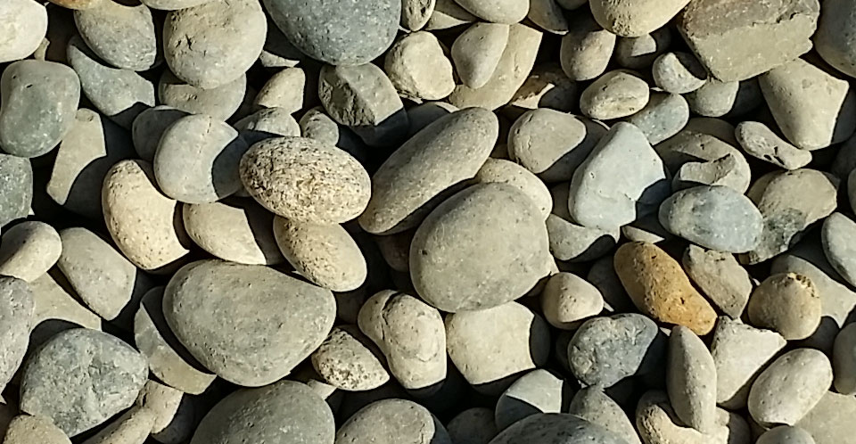 Rock Decorative and Stone - 2x4 Inch Noiyo Cobbles